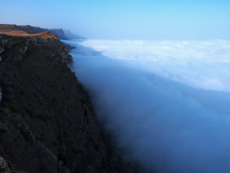 Drive above the clouds
